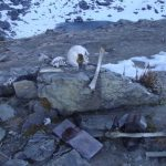 بحيرة الهياكل البشرية في جبال الهيملايا