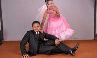 زواج أصغر عروسين في مصر بعد 6 سنوات خطوبة