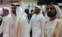 قادة الإمارات يمطرون السعودية بالتهاني في عيدها الـ89