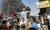 """إضراب واحتجاجات فلسطينية رفضا لـ""""تصاريح العمل"""" في لبنان"""