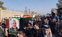 الحشد الشعبي العراقي يشيع مقاتلاً قتل بقصف إسرائيلي