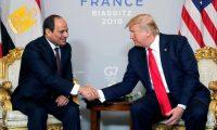 الرئيس الأمريكي يهنيء الرئيس السيسي على التقدم الذي حققته مصر