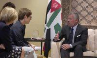 الملك عبدالله الثاني يبحث مع وزيرة الدفاع الألمانية الحرب على الإرهاب