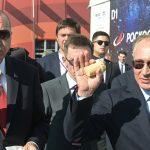 بوتين يشتري «آيس كريم» لأردوغان خلال جولتهما في معرض للطيران