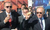 أردوغان: نسعى لزيادة قيمة التجارة مع روسيا إلى 100 مليار دولار