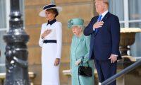 الملكة إليزابيث تكشف عن «ضيقها» من ترامب بسبب إتلافه عشب حديقتها