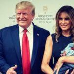 ترامب يثير غضب الأمريكيين بصورة مع رضيع فقد والديه فى حادث تكساس