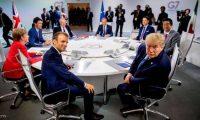 """قادة  G7 يتفقون على أنه """"من المبكر"""" عودة روسيا للمجموعة"""