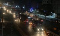 قافلة مساعدات لوجستية وعربات عسكرية للتحالف الدولي تدخل شمال شرق سوريا