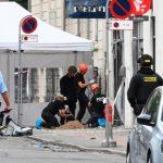 انفجار مركز الشرطة في كوبنهاجن