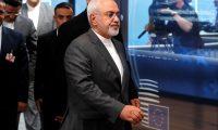 وزير الخارجية الإيراني يغادر فرنسا بعد لقاء ماكرون على هامش قمة مجموعة السبع