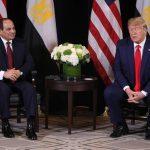 ترامب: مصر لديها قائد رائع وزعيم حقيقي يحظى بالاحترام