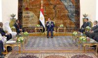 الرئيس السيسي يؤكد دعم مصر للسودان خلال لقاء حمدوك
