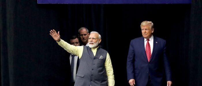 الهند تبني جدار جديد من أجل ترامب
