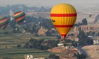 إقلاع 21 رحلة بالون تقل 450 سائحا في مدينة الأقصر