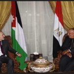 شكري يلتقي نظيريه الأردني والإماراتي في القاهرة