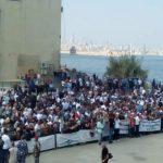 لاجئون فلسطينيون يطالبون السفارة الكندية بفتح باب الهجرة