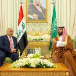 """ولي العهد السعودي يبحث مع رئيس الوزراء العراقي """"أسواق النفط"""""""
