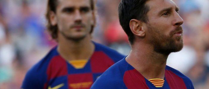 نادي برشلونة يُفكِّر جدياً في بيع أنطوان جريزمان