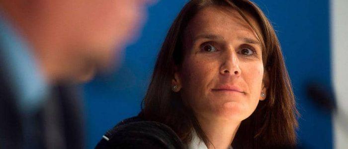 صوفي ويلمز أول امرأة  مرشحة لرئاسة وزراء بلجيكا