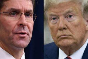 وزير الدفاع الأمريكي يتعهد بالتعاون في التحقيق لعزل ترامب