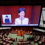 تعليق أعمال برلمان هونج كونج بعد مقاطعة الرئيسة التنفيذية كاري لام