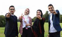 ثلاثة طلبة فلسطينيين يفوزون بجائزة أفضل فكرة ريادية في لندن