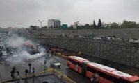 اندلاع تظاهرات ضخمة في إيران: 4 قتلى وإضرام النار في ممتلكات عامة والعراق يغلق حدوده الشرقية