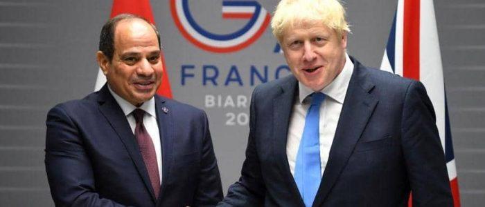 السيسي يرحب برفع بريطانيا قيود الرحلات الجوية لشرم الشيخ