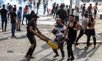 مقتل 9 متظاهرين وإصابة 135في بغداد وعدد من المحافظات خلال خمسة أيام