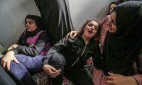 ارتفاع عدد شهداء القصف الإسرائيلي على غزة إلى 10