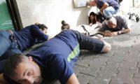 إصابة 64 إسرائيليا جراء إطلاق القذائف الصاروخية من غزة