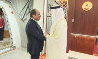 الرئيس السيسي يصل أبو ظبي في زيارة رسمية للإمارات تستغرق يومين