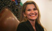 أمريكا تعترف بجانين آنيز رئيسة لبوليفيا