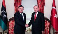 أردوغان يبحث مع السراج في إسطنبول آفاق التعاون بين البلدين