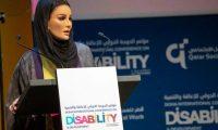 """الشيخة موزا: 40 مليون """"معاق"""" في العالم العربي أكثر من نصفهم أطفال ومراهقون"""