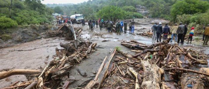 مقتل العشرات إثر انهيارات أرضية في بوروندي وأوغندا وسط هطول أمطار غزيرة