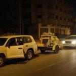 قطر تسلم مركبات ومعدات للدفاع المدني في غزة