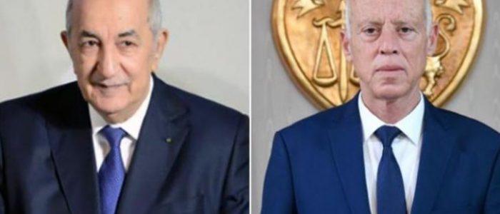 قيس سعيد أول زعيم يهاتف عبد المجيد تبون مهنئا برئاسة الجزائر