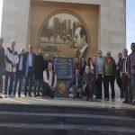وفد من مؤتمر أدباء مصر يزور أنفاق 3 يوليو ببورسعيد