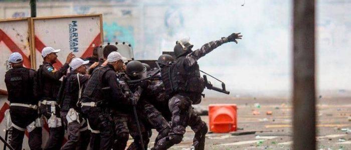"""الشرطة البرازيلية تقتل 9 """"من دون رصاص أو اشتباكات"""""""