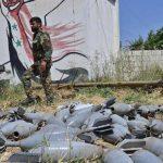 """الجيش السوري على بعد """"مئات الأمتار"""" من ثاني أكبر مدن إدلب"""