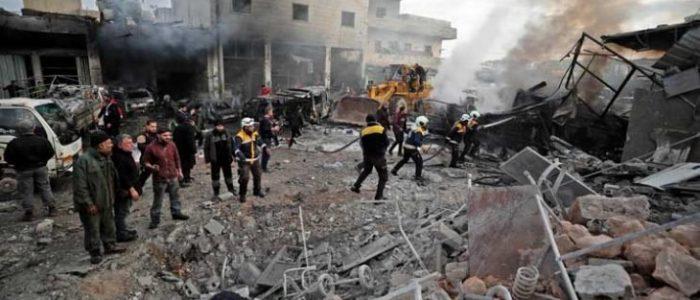 39 قتيلاً من قوات النظام والفصائل المقاتلة في معارك في شمال غرب سوريا