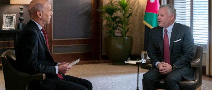 العاهل الأردني يدعو إسرائيل لاستئناف الحوار ويكشف أن المملكة كانت مهددة من «وكلاء إيران»