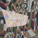 التجريد الهندسي لغة اللون وحركة المكان والزمان في تجربة Ernest Posey و Adnan Al Masri