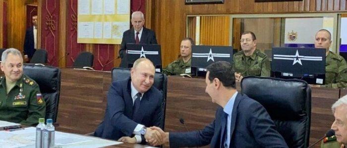 بوتين للأسد في دمشق: قطعنا شوطا كبيرا في إعادة بناء الدولة السورية ووحدة أراضيها