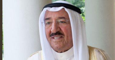 أمير الكويت يعزى الرئيس السيسى فى وفاة حسنى مبارك