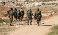 الجيش السورى يستهدف برمايات صاروخية أوكاراً ومحاور تسلل إرهابيى داعش