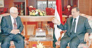 الرئيس الفلسطينى ينعى الرئيس الأسبق محمد حسنى مبارك