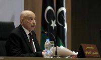 """عقيلة صالح يطرح خطة من 12 بندا """"لإنهاء"""" الأزمة الليبية"""